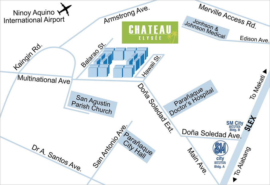 chateau-map