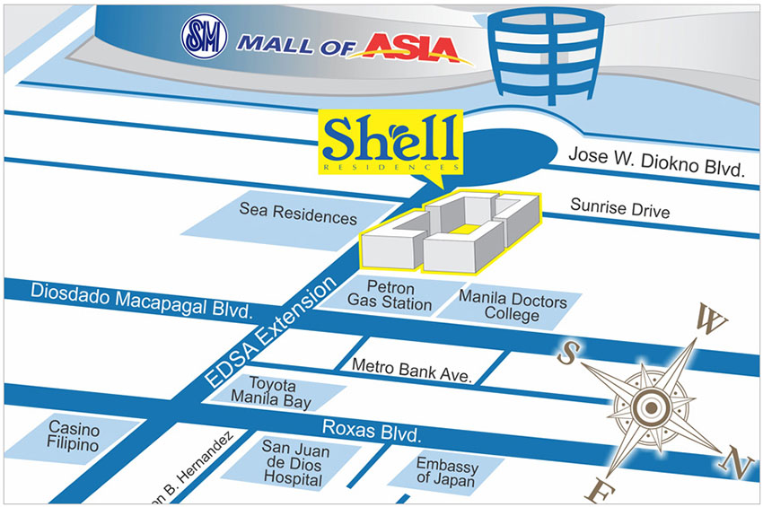 shell-map